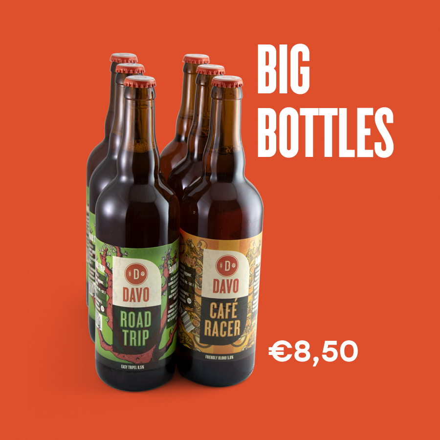 Big Bottles | DAVO Bieren